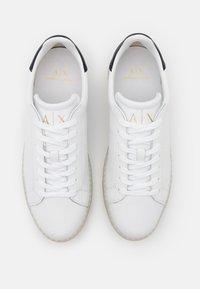 Armani Exchange - CLEAN CUPSOLE - Tenisky - white - 3