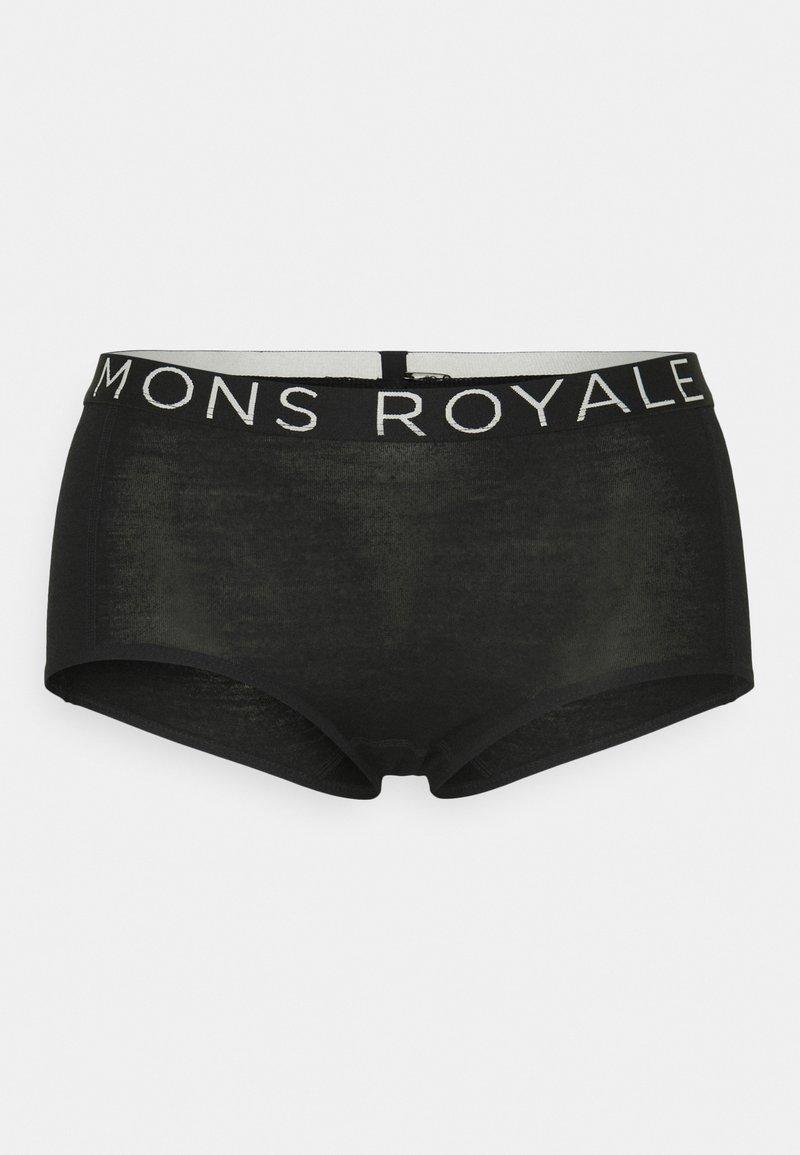 Mons Royale - SYLVIA BOYLEG - Boxerky - black