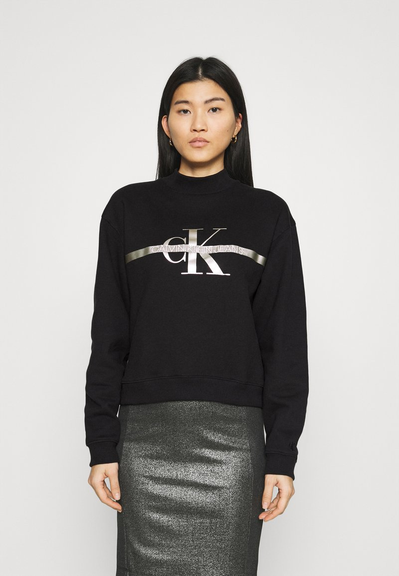 Calvin Klein Jeans - MONOGRAM  - Sweatshirt - black
