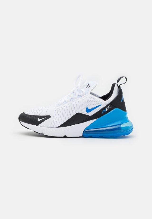 AIR MAX 270 - Sneaker low - white/signal blue/black