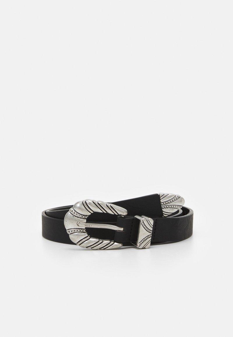 ONLY - ONLANGLE BUCKLE BELT - Belt - black
