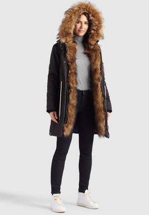 ALBULENA - Winter coat - schwarz