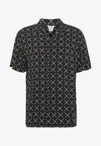 JCOGRAHAM SHIRT SS PLAIN - Shirt - black/comfort