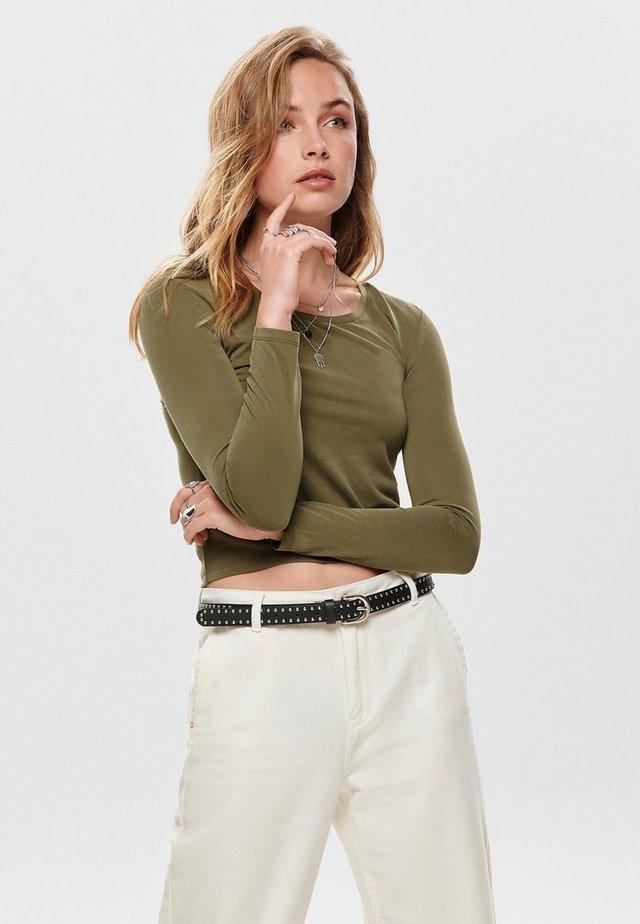 Camiseta de manga larga - olive