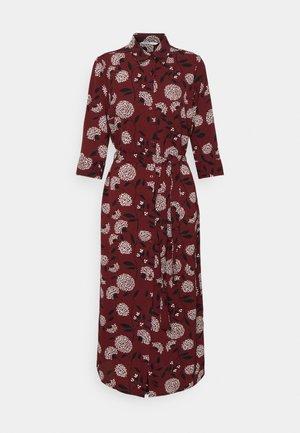 ONLNOVA LUX  SHIRT DRESS - Košilové šaty - port royale