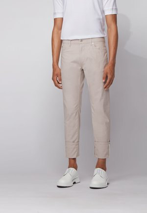 MAINE - Trousers - natural