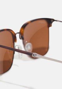 Salvatore Ferragamo - UNISEX - Sunglasses - light ruthenium/tortoise - 4