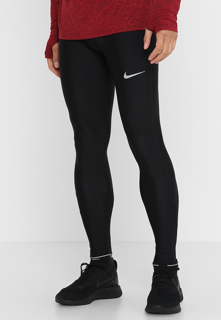 Nike Performance - RUN MOBILITY  - Leggings - black/reflective silver