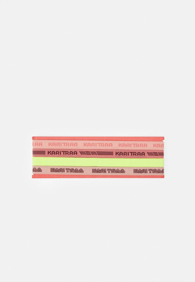 JANNI HEADBAND 4 PACK - Annet - light pink