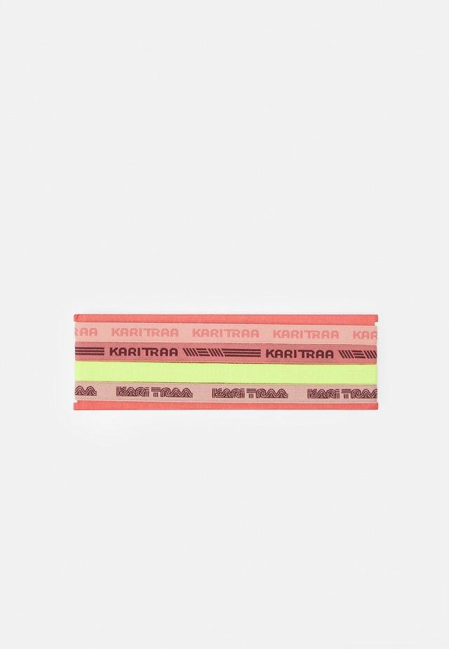 JANNI HEADBAND 4 PACK - Andet - light pink