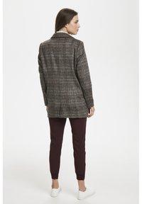 Soaked in Luxury - JILLIAN - Short coat - black/brown/cream - 2