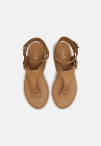 YAS - YASRAFFA - T-bar sandals - biscuit - 4
