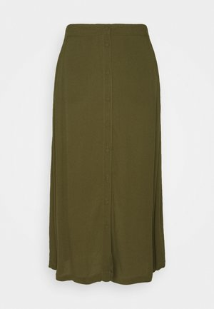 MAISA - A-line skirt - dark olive
