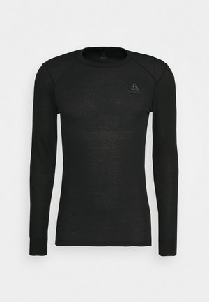 ACTIVE WARM ECO TOP CREW NECK - Camiseta de deporte - black