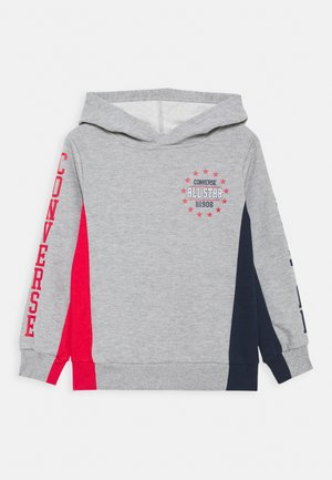 COLORBLOCK ALL STAR HOODIE - Kapuzenpullover - dark grey heather