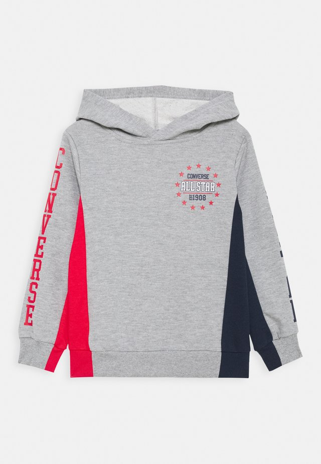 COLORBLOCK ALL STAR HOODIE - Mikina s kapucí - dark grey heather