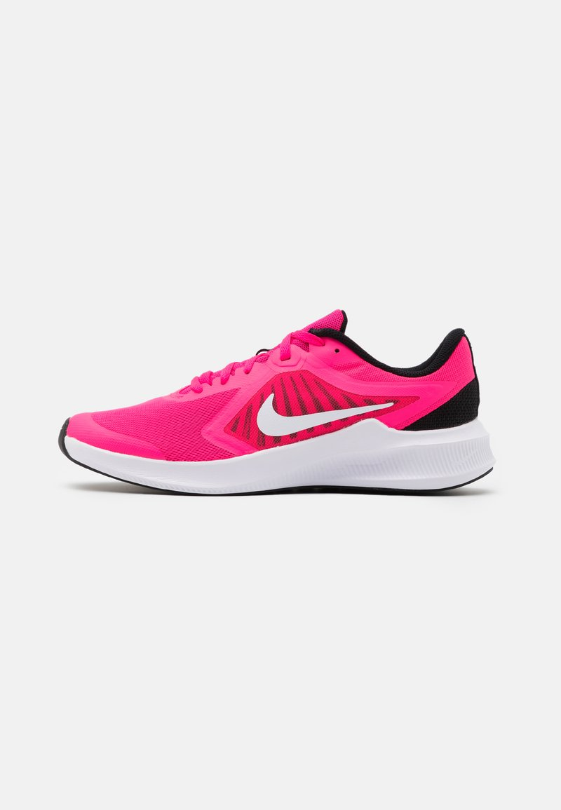 Nike Performance - DOWNSHIFTER - Neutral running shoes - hyper pink/white/black