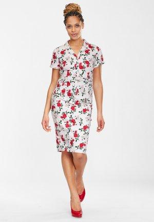 CATERINA - Shirt dress - white