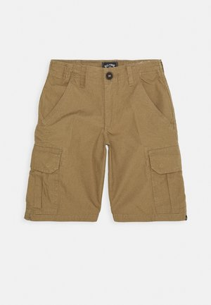 SCHEME BOY - Cargo trousers - light khaki