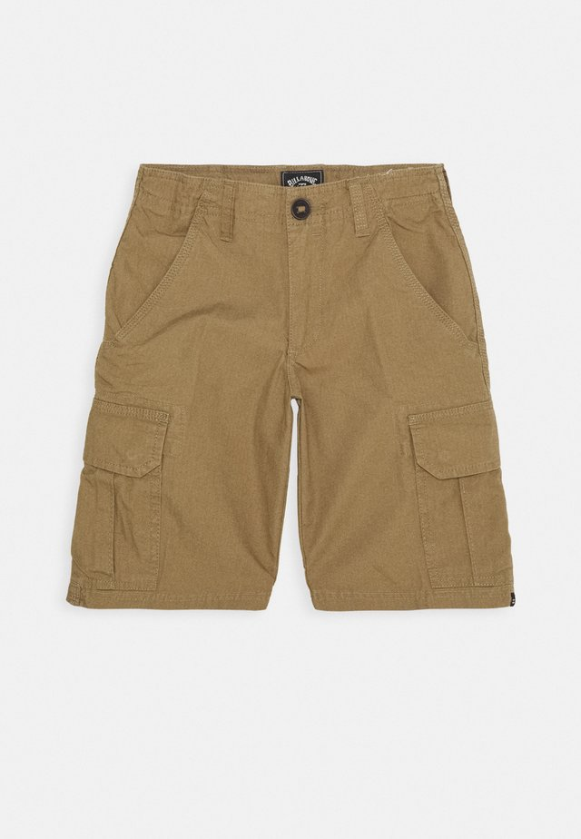 SCHEME BOY - Pantaloni cargo - light khaki