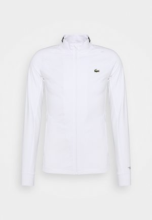 COURT JACKET - Verryttelytakki - white/black