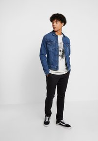 Only & Sons - ONSTARP WASHED - Chinos - black - 1
