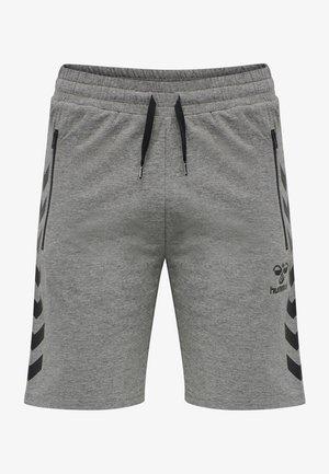 Sports shorts - dark grey melange