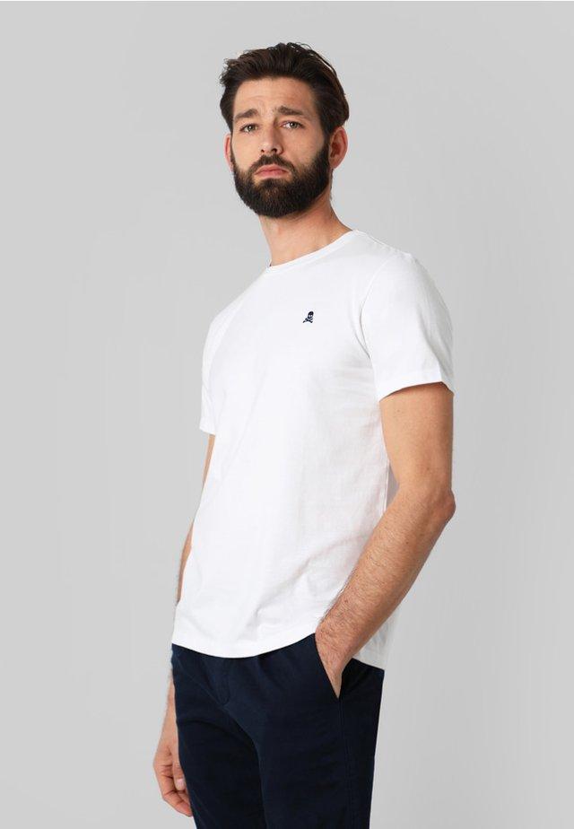 SKULL  - T-shirt basic - white