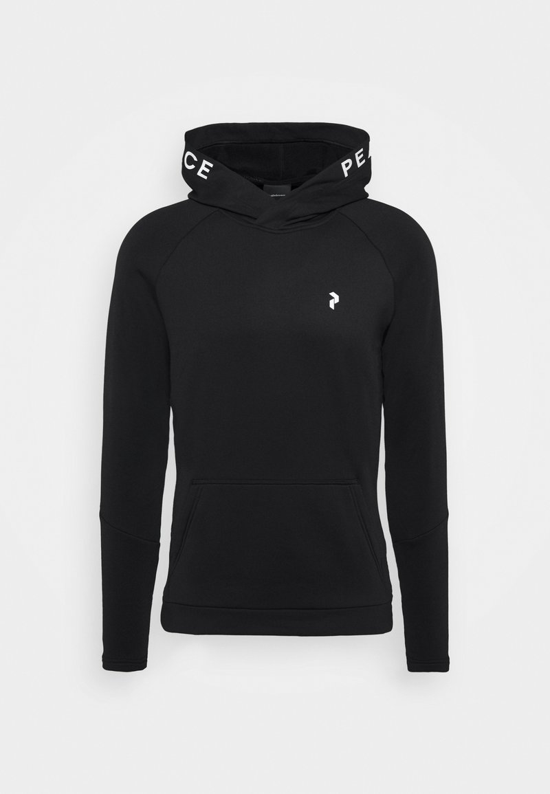 Peak Performance - RIDERHOOD - Fleece jumper - black