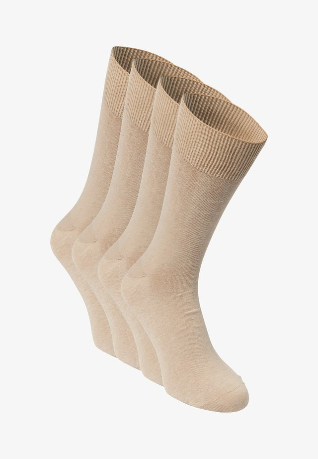 4PACK - Socks - beige