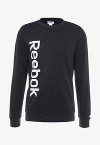 Reebok - ELEMENTS SPORT LONG SLEEVE PULLOVER - Sweatshirt - black - 3