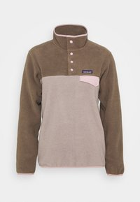 Patagonia - SYNCH SNAP - Fleece jumper - furry taupe - 3