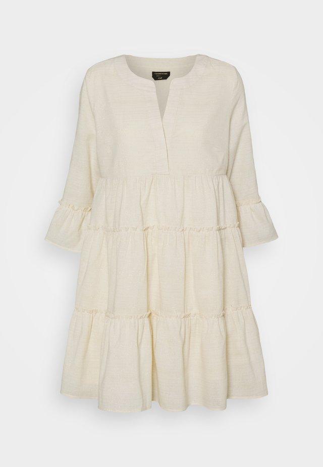 INDY BOHO DRESS WOMEN  - Korte jurk - beige
