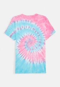 J.CREW - TIE DYE TEE - Camiseta estampada - blue/red - 1