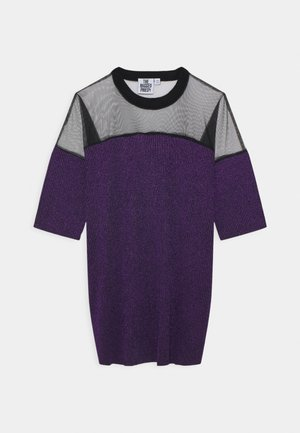 TINSE DRESS - Day dress - purple/black