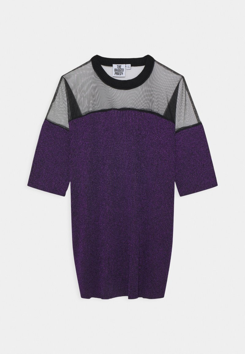 The Ragged Priest - TINSE DRESS - Day dress - purple/black