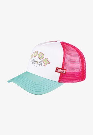 Cap - white/mint/pink