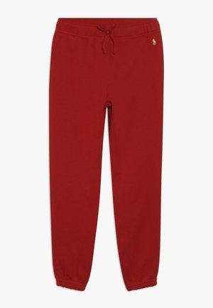 BOTTOMS PANT - Teplákové kalhoty - red