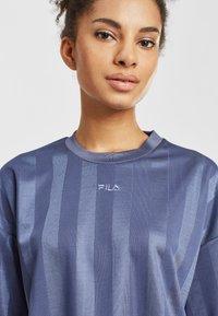 Fila - Print T-shirt - crown blue - 3