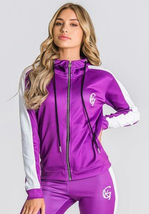 FUSION - Sweater met rits - purple