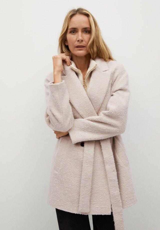 LAPIZ - Classic coat - beige