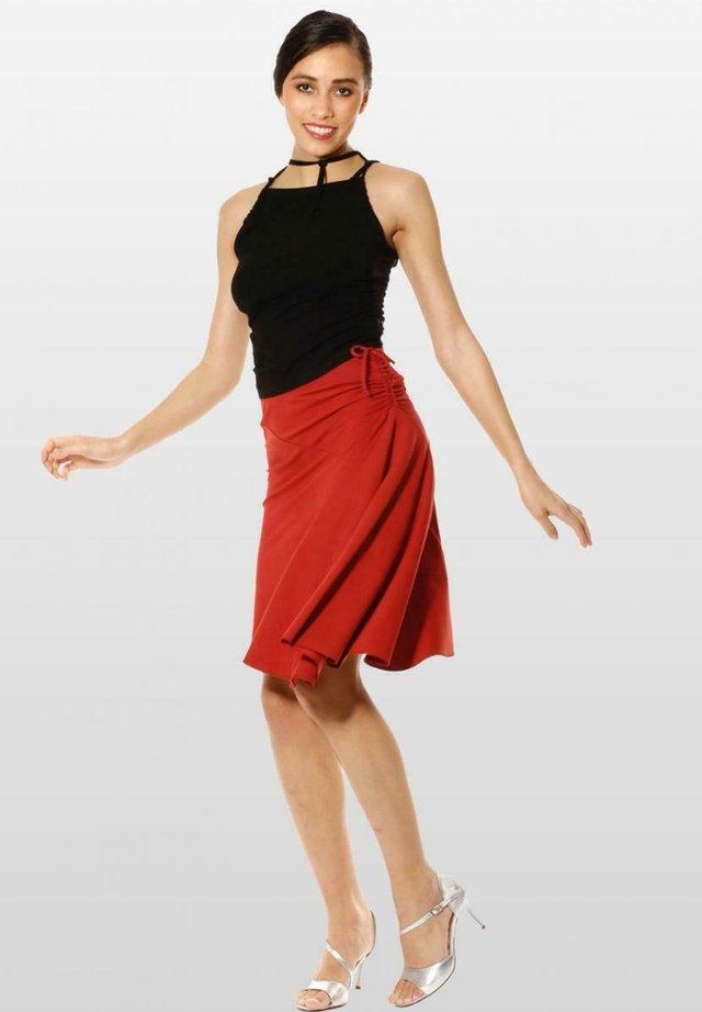 Wrap skirt - sienarot