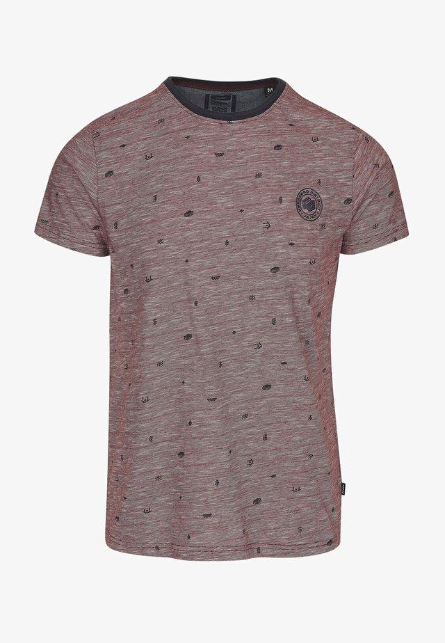 09 HYGGE  - T-shirt print - rood