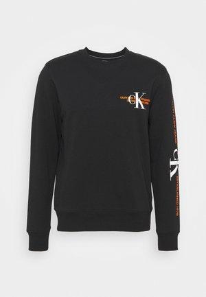 URBAN GRAPHIC LOGO CREW NECK UNISEX - Sweatshirt - black