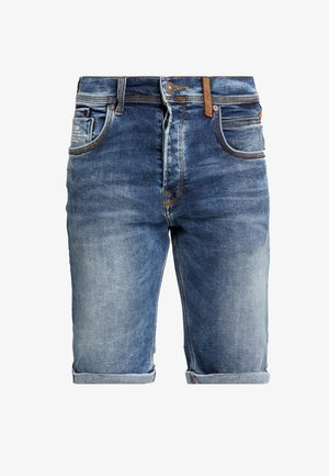 CORVIN - Jeansshorts - aleves wash