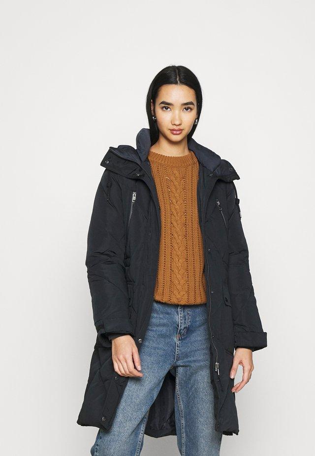 ELONGATED - Zimní kabát - black