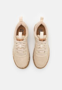 Jack Wolfskin - ECOSTRIDE LOW - Hiking shoes - natural - 3