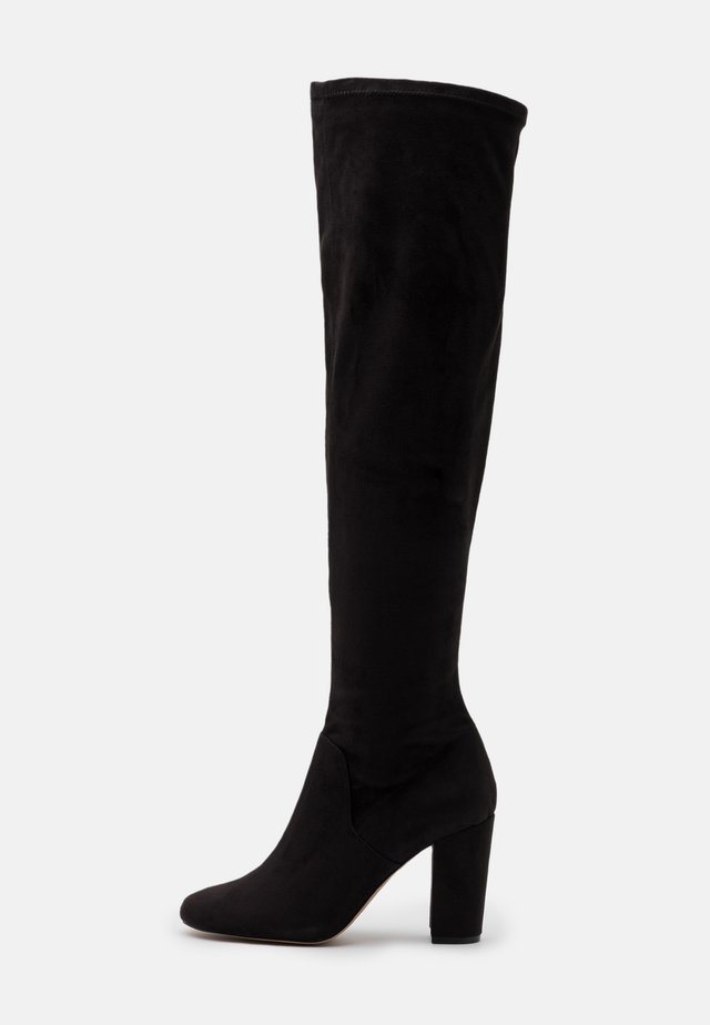 ROBINN - Over-the-knee boots - black