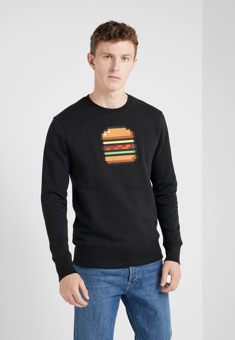 Bricktown - BIG BURGER - Sweatshirt - black
