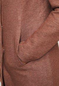 ONLY Petite - ONLSEDONA LIGHT COAT PETITE  - Short coat - chocolate fondant melange - 4
